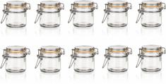 Banquet LINA Hermetikus üveg, 100 ml, 10 db
