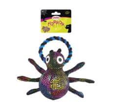 RECORD Horor igračka, pauk s užetom, 20 cm