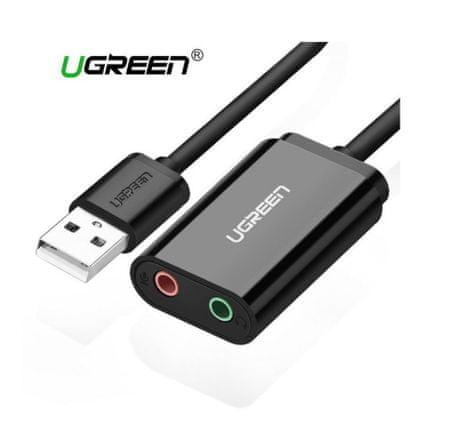 Ugreen USB 2.0 na audio 3.5 mm adapter