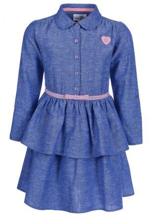 Happy Girls lány ruha, kék, 122