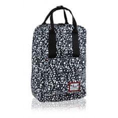 Hash Štýlový batoh s rúčkami Black Terrazzo, HS-338, 502020088