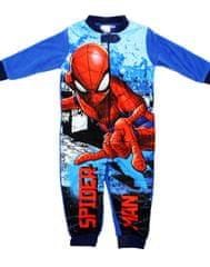 """SETINO Piżama chłopięca ocieplana """"Spiderman"""" - niebieski"""