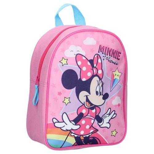 """Vadobag Detský ruksak """"Minnie Mouse - Stars and Rainbows""""- ružová"""