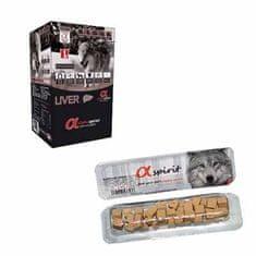 Alpha Spirit Liver Snacks poslastice za pse, jetra, 50 g x 24