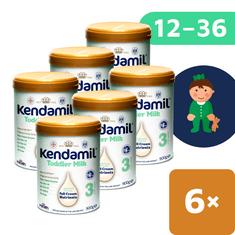 Kendamil batolecí mléko 3 (6x 900 g) DHA+