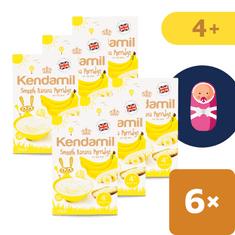 Kendamil Jemná detská banánová kaša 6x125g