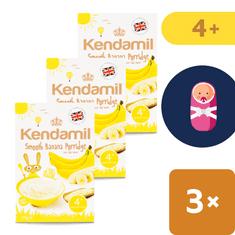 Kendamil 3x Dětská banánová kaše - 125g