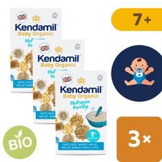 Kendamil Dětská bio organická vícezrnná kaše 7+ (3x150 g)