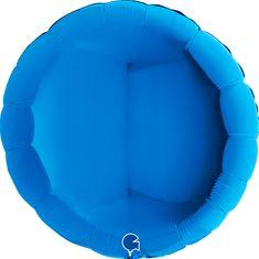 Grabo Nafukovací balónek kulatý 91cm modrý