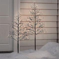 Solight LED venkovní stromek, 150cm, 360 LED, teplé bílé světlo, hnědá barva - použité