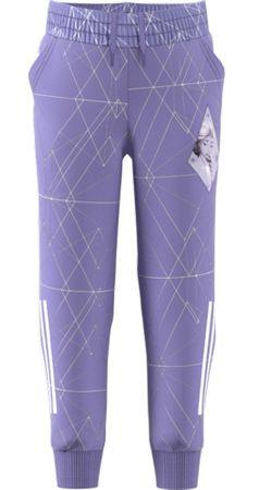Adidas spodnie dresowe dziewczęce LB DY FRO Pant, 98 fioletowe