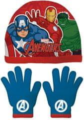 Disney chlapčenský set čiapky a rukavice Avengers