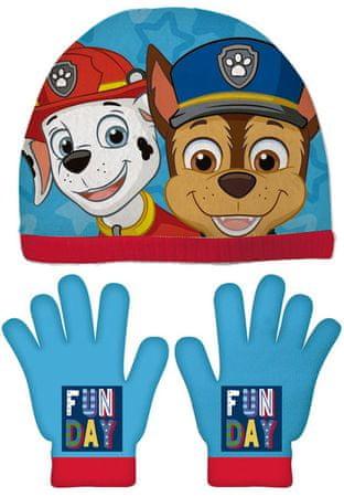 Disney fantovski set kape in rokavic Tačke na patrulji