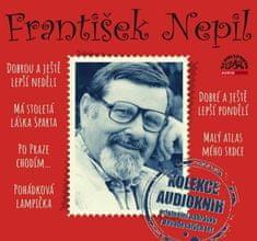 Nepil František: František Nepil - Kolekce audioknih - MP3-CD