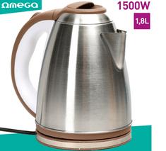 Omega OE804 kuhalo za vodu, 1,8 l, 1500 W, automatsko isključivanje