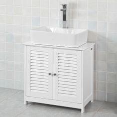 SoBuy FRG237-W umyvadlová spodní skříňka koupelnová skříňka spodní skříňka 60x58x34cm