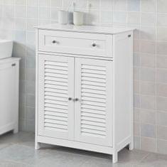 SoBuy FRG238-W Komoda, koupelnová skříňka, příborník, předsíňka 60x87x35cm