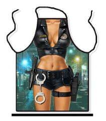 Zástěra - Sexy policistka - univerzální velikost