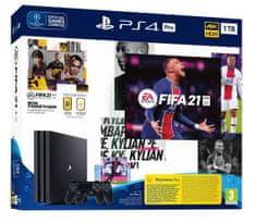 Sony PlayStation 4 Pro igraća konzola, 1 TB + FIFA 21 + DualShock 4