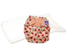 Bambinomio Pelenka tesztcsomag NEW Loveable Ladybug 1- es méret (9kg-ig)