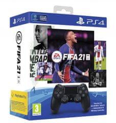 Sony Dualshock® 4 bežićni joystick + FIFA 21