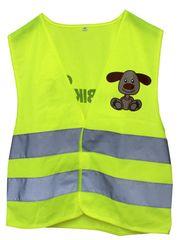 First BIKE varnostni brezrokavnik s kužkom, otroški, mali XS