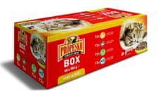 Propesko vrecko mačka XXL Pack mix 48x100 g
