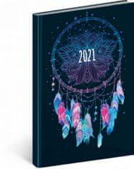 Diář 2021: Cambio Fun - Lapač snů - týdenní, 15 x 21 cm