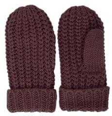ICHI rękawiczki damskie bordowe IAFLEUR GL
