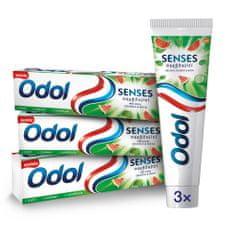Odol Senses Meloun zubní pasta 3x75 ml