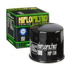 Hiflofiltro Olejový filtr HF 138