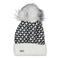 Delami Dámska čiapka Bea, bielo-čierna