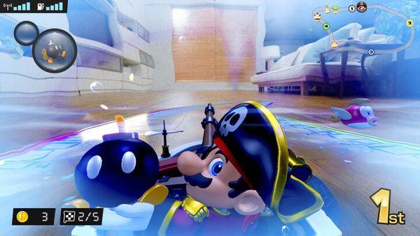dirkalna igra Nintendo Switch Mario Kart Live Home Circuit – Mario (NSS428) razširjena realnost