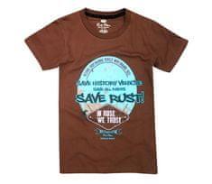 Rusty Pistons tričko RPTSM72 Rust brown