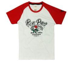 Rusty Pistons dámske tričko RPTSW37 Ona white/red