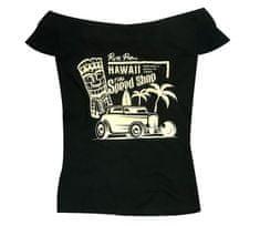 Rusty Pistons dámske tričko RPTSW56 Hawaii black/beige
