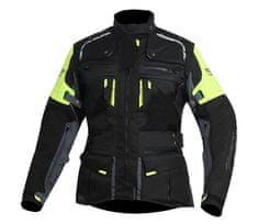 TRILOBITE dámská bunda 2091 Rideknow Tech-Air black/yellow fluo