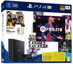 Sony PlayStation 4 Pro - 1 TB + FIFA 21 + 2× DualShock 4 (PS719835226)