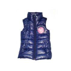 Sun City Dievčenská zateplená vesta PEPPA PIG fialová (EN6210) 3 roky (98cm)