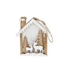 TORO LED dekorácia vianočná závesná, jeleň