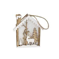 TORO LED dekorácia vianočná závesná, jelene
