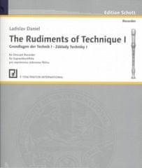 Základy techniky I pro sopránovou zobcovou flétnu P1556