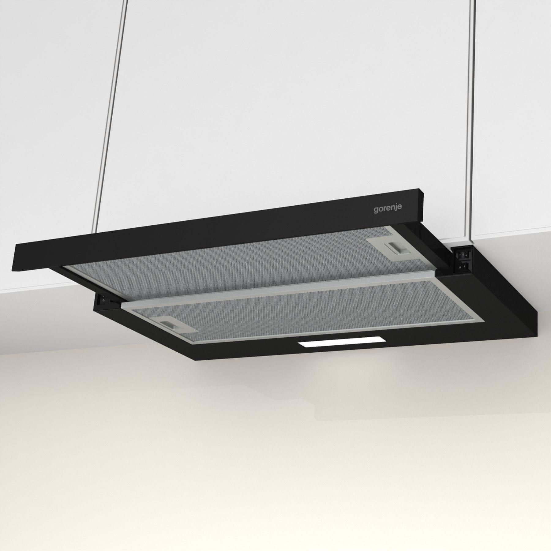 Gorenje TH60E3B LED osvětlení