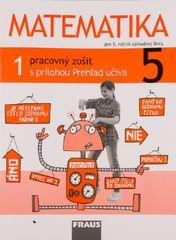 Matematika 5 - Pracovný zošit 1. diel