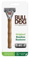 Bulldog Original Bamboo strojek + 2 náhradní hlavice