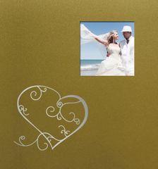 FANDY Fotoalbum 10x15 200 foto svatební Love 2 zlaté