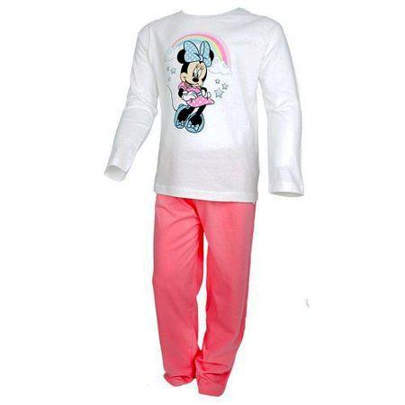 """Eplusm Dekliška bombažna pižama """"Minnie mouse"""" - breskev barva - 98 / 2–3 leta"""