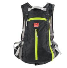Naturehike kerékpáros hátizsák sisaktartóval 15l - fekete