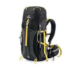 Naturehike trekking hátizsák 55+5l - fekete