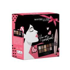Maybelline Maybelline New York set, Lash Sensational Limited maskara i paleta sjenila